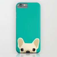 French Bulldog iPhone & iPod Case by Anne Was Here