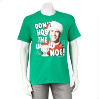 National Lampoons Christmas Vacation Nog Hog Tee