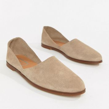 Depp Suede Flat Shoes at asos.com