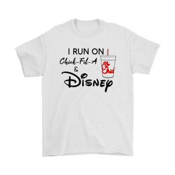 AUGUAU I Run On Chick Fil A And Disney Shirts