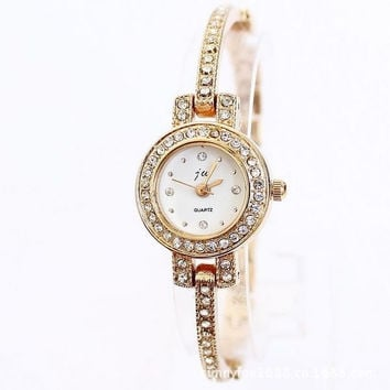 Rose gold bracelet watch  watch  ladies watches (Color: Gold) = 1956644228