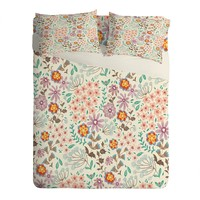 Pimlada Phuapradit Tiny Floral Pastel Sheet Set Lightweight
