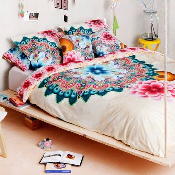 Desigual Mandala Reversible Duvet Cover in Multi