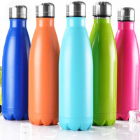 500ML Stainless Steel Satin Insulated Water Bottle