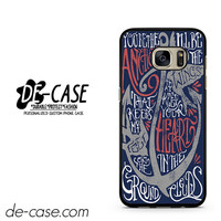 Mayday Parade Lyrics DEAL-7008 Samsung Phonecase Cover For Samsung Galaxy S7 / S7 Edge