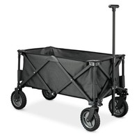 Folding Wagon (Fully Folded) - Black - Walmart.com