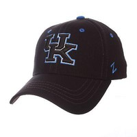 Licensed Kentucky Wildcats Official NCAA Black Element X-Small Hat Cap by Zephyr 609859 KO_19_1