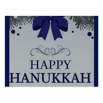 Happy Hankkah Postcard