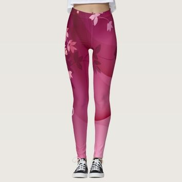 Pink \ Red Leggings