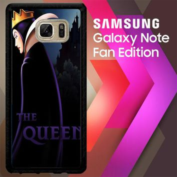 Disney Evil Queen Y0752 Samsung Galaxy Note FE Fan Edition Case