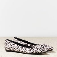 AEO Animal Print Pointed Toe Flat   American Eagle Outfitters