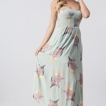 Picking Flowers Maxi Dress