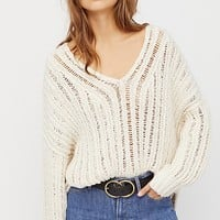 Infinite V-Neck Sweater