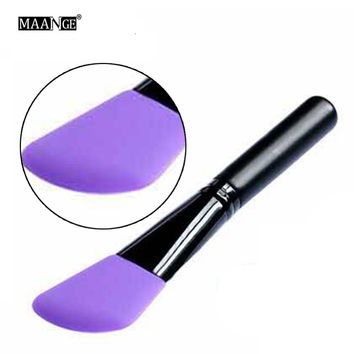 1pcs Silicone Brush Mask Brocha Silicona Mascarilla Silicone Face Eye Shadow Brush Professional Liquid Foundation Brush #237563