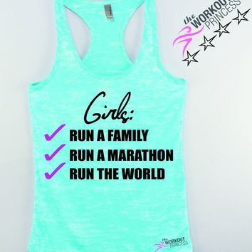 Run a Family, Run a Marathon, Run the World