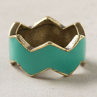 Zigzagged Ring