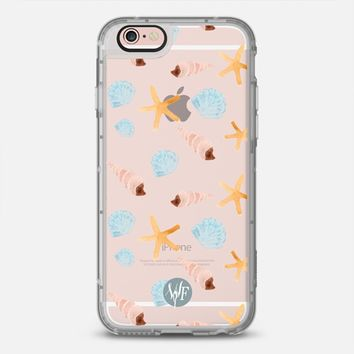 Latest Fashion Tech iPhone Case by Casetify | Swept Ashore Clear Design by Wonder Forest (iPhone 6, 6s, 6 Plus, 6s Plus, 7)