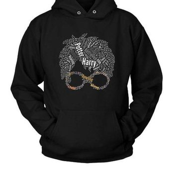 Harry Potter Typography Hoodie Two Sided