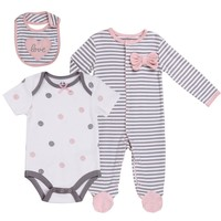 3-Pc Baby Layette Set