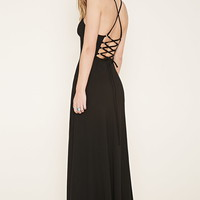 Lace-Up Back Maxi Dress | Forever 21 - 2000170456