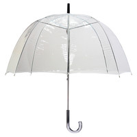 Lollipop Bubble Umbrella, Clear, Stick