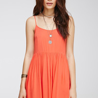 Shirred Gauze Cami Dress