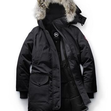 CANADA GOOSE winter women trillium parka jacket/black