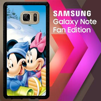 Mickey Mouse And Minnie Mouse X4965 Samsung Galaxy Note FE Fan Edition Case