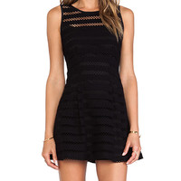 Nanette Lepore Take a Risk Romper in Black