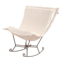 Howard Elliott Collection 'Scroll Puff' Faux Mink Rocking Chair | Nordstrom