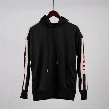 DKJN6 Gucci Sports Sweatshirts (Sleeves can be split)