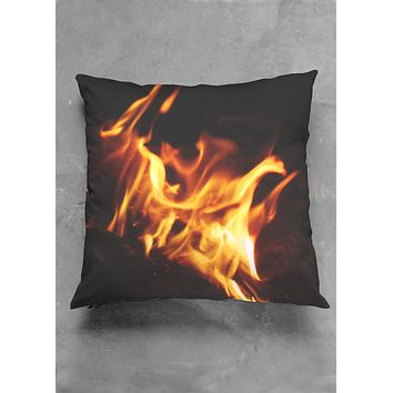 Square FIRE Pillow