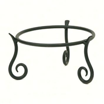 SheilaShrubs.com: Wrought Iron Stand - Short GBS-22 by Achla Designs: Plant Stands