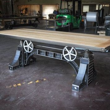 Vintage Industrial Dining Table / Desk