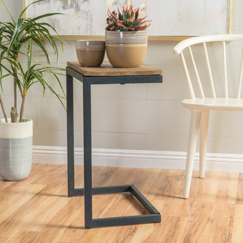 Ramona Fir wood Antique Accent Table