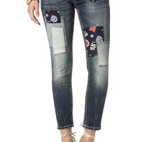 Patch Party Ankle Skinny