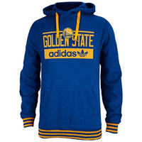 Golden State Warriors adidas Originals Pullover Hoodie – Royal Blue