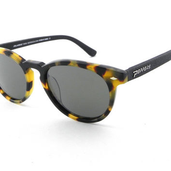 Peppers - Princeton Tokyo Tort + Black Temples Sunglasses, G-15 Lenses