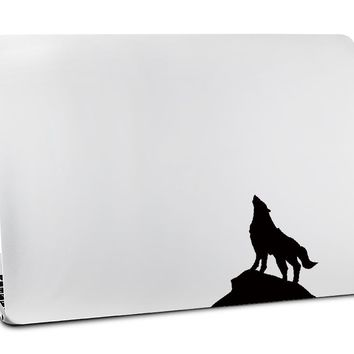 A Strong Wolf - Decal Laptop Sticker