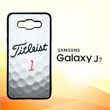 Titleist Golf Ball X4368 Samsung Galaxy J7 Edition 2015 SM-J700 Case