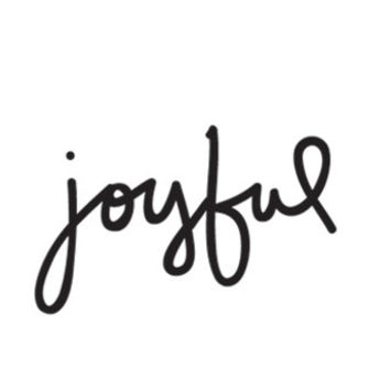 joyful temporary tattoo / valentine gift / hand lettering script style typography tattoo / body art wrist tattoo / happytatts etsy