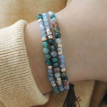 Divine Dreams Bracelet - Green