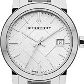 Burberry Watch, Women's Swiss Stainless Steel Bracelet 34mm BU9100