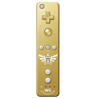 Limited Edition Gold Zelda Wii Motion Plus Remote