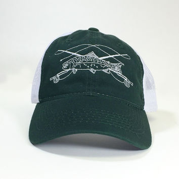 Fly Fishing Children's Trucker Hat