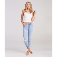 HOT MAMA RAW EDGE DENIM