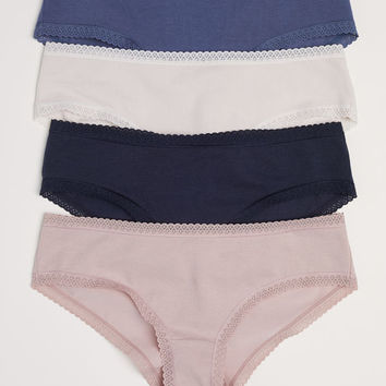4-pack Cotton Hipster Briefs - from H&M
