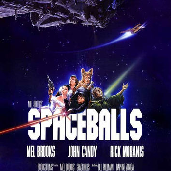 Spaceballs 27x40 Movie Poster (1987)