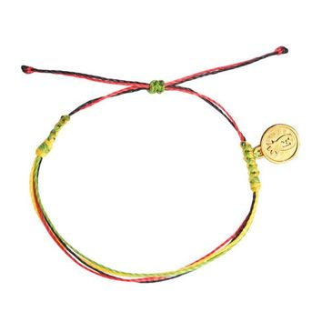 Day-First™ Rasta String Bracelet