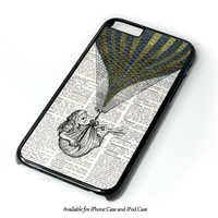 Alice In Wonderland Tardis Design for iPhone and iPod Touch Case